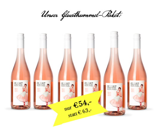 Gluathummel Rosé Frizzante Paket